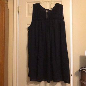 Beautiful plus sized 3x navy dress